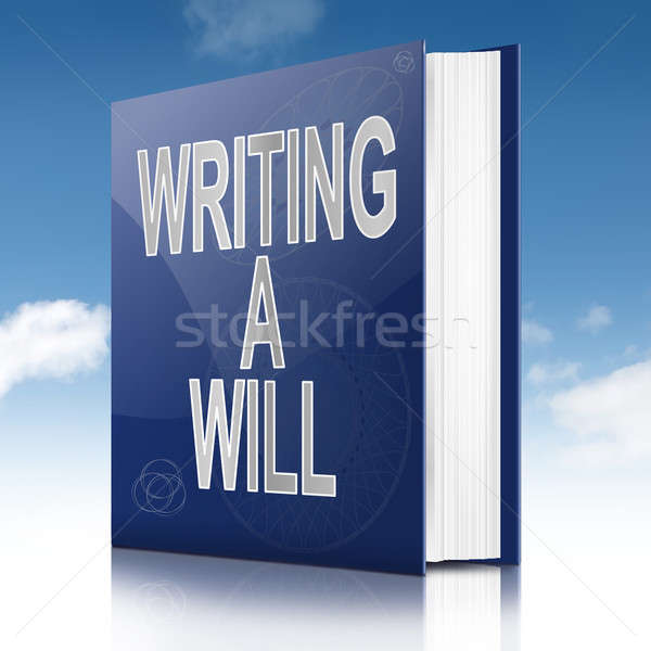 Writing a will concept. Stock photo © 72soul