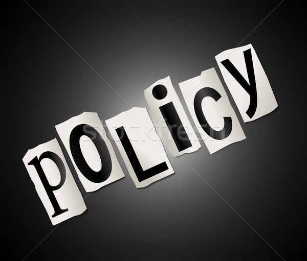 Policy Concept. Stock photo © 72soul