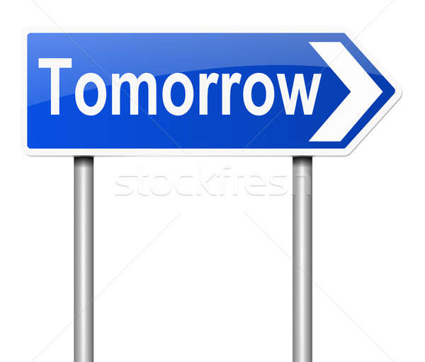 Tomorrow concept. Stock photo © 72soul