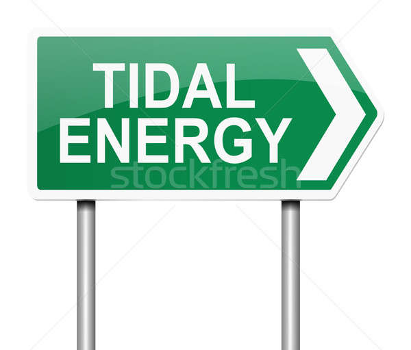 Tidal energy concept. Stock photo © 72soul
