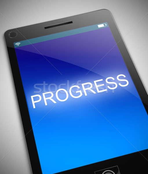 Technology progress concept. Stock photo © 72soul