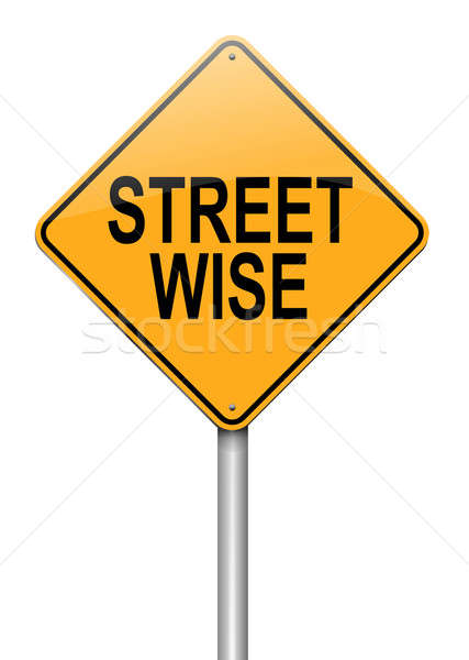 Street wise concept. Stock photo © 72soul