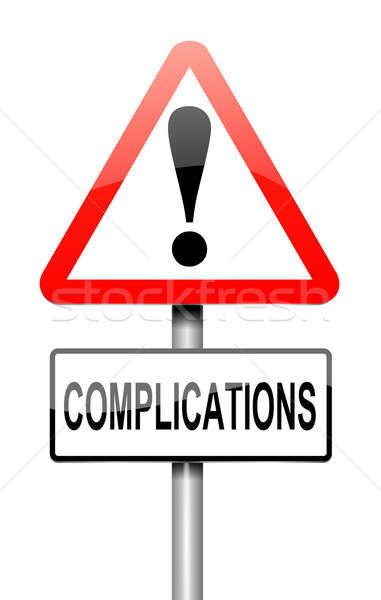 Complication concept. Stock photo © 72soul