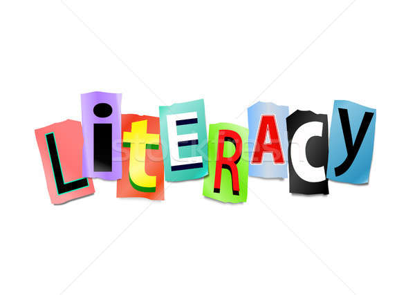 Literacy concept. Stock photo © 72soul
