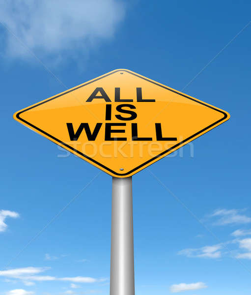 All is well. Stock photo © 72soul