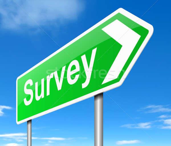 Survey concept. Stock photo © 72soul