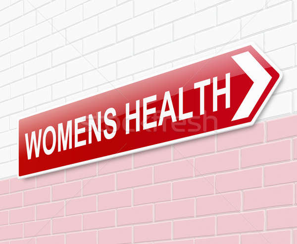 Womens health sign. Stock photo © 72soul