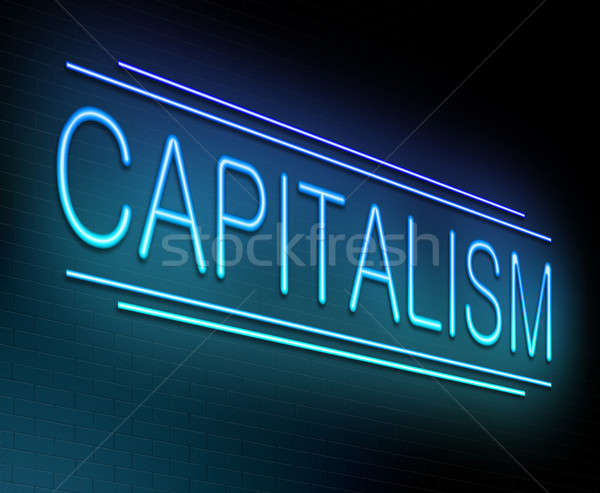Capitalism concept. Stock photo © 72soul