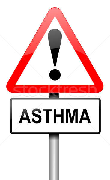Asthma concept. Stock photo © 72soul