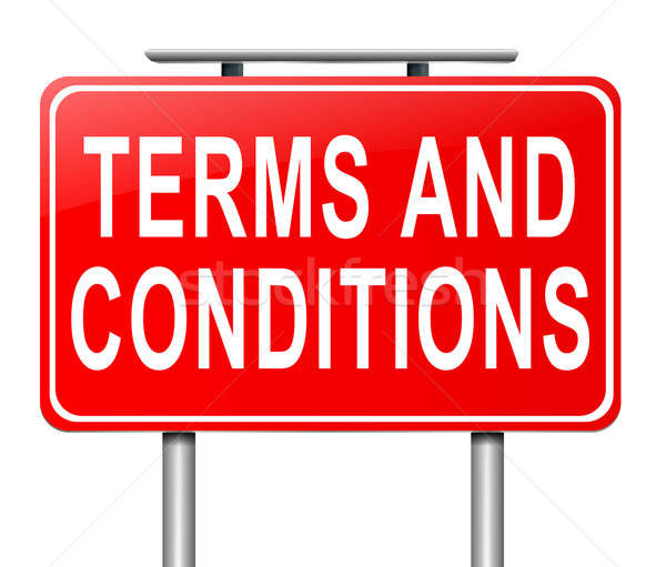 Terms and conditions. Stock photo © 72soul
