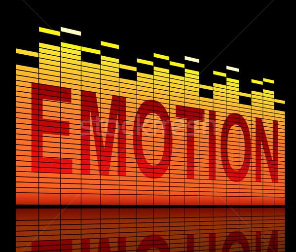 Emotion concept. Stock photo © 72soul