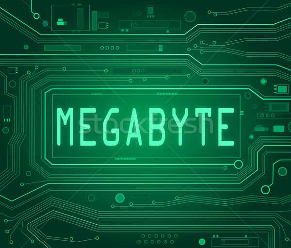Megabyte concept. Stock photo © 72soul