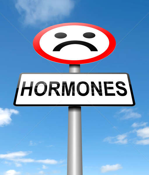 Hormones concept. Stock photo © 72soul