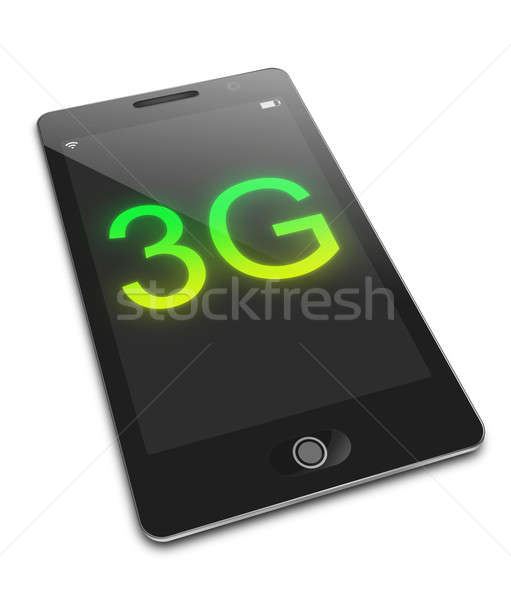 Mobile 3G concept. Stock photo © 72soul