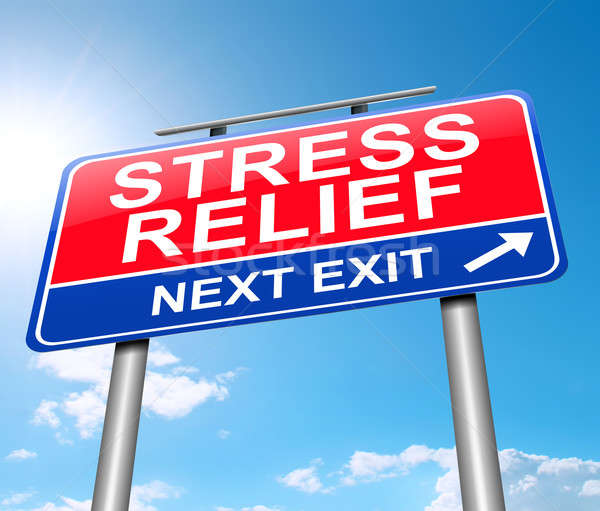 Stress relief concept. Stock photo © 72soul