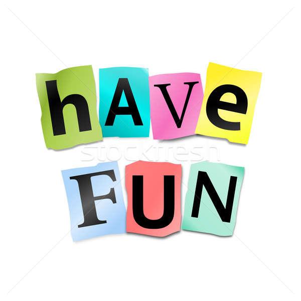 Have fun concept. Stock photo © 72soul