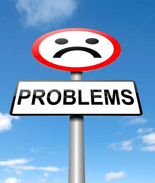 Problem concept. Stock photo © 72soul