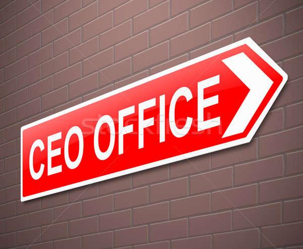 CEO concept. Stock photo © 72soul