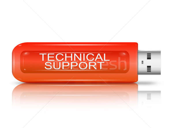 Technical support concept. Stock photo © 72soul