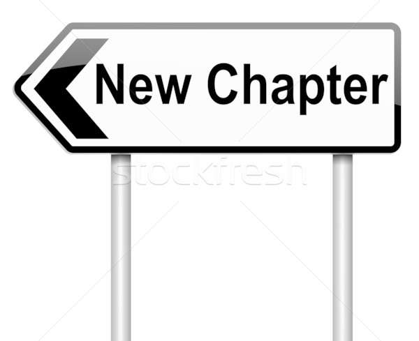 New chapter concept. Stock photo © 72soul
