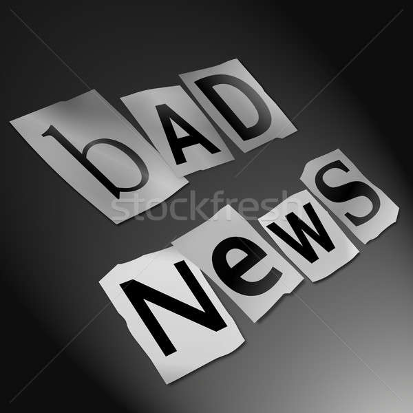 Bad news concept. Stock photo © 72soul
