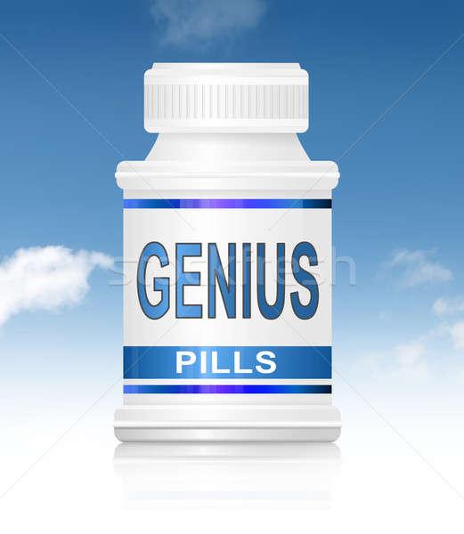 Genius pills. Stock photo © 72soul