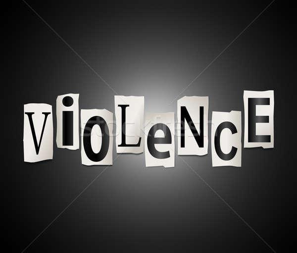 Violence concept. Stock photo © 72soul