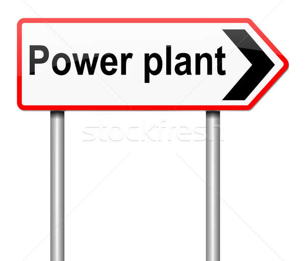 Power plant concept. Stock photo © 72soul