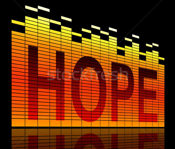 Hope levels concept. Stock photo © 72soul