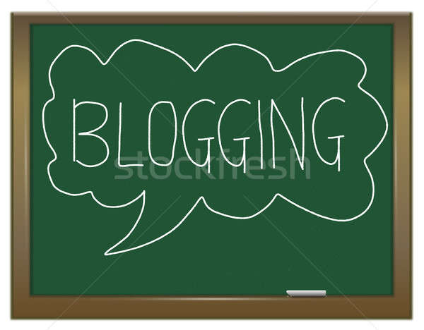 Blogging concept. Stock photo © 72soul