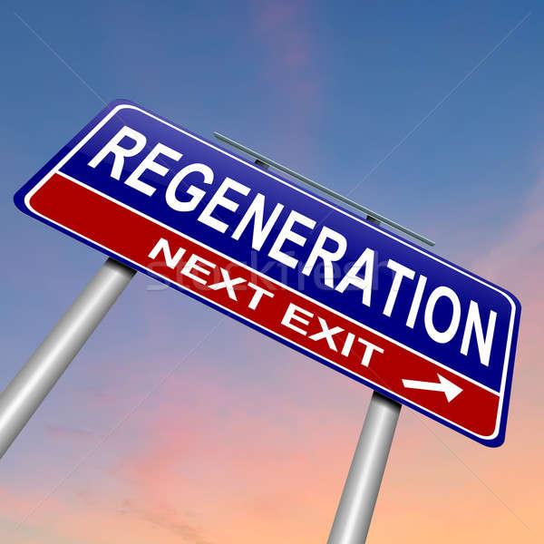 Regeneration concept. Stock photo © 72soul