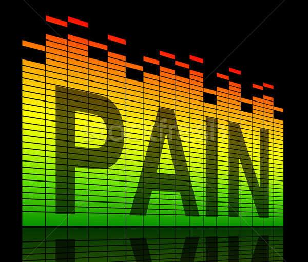 Pain Concept. Stock photo © 72soul