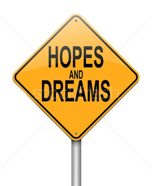 Hopes and dreams concept. Stock photo © 72soul