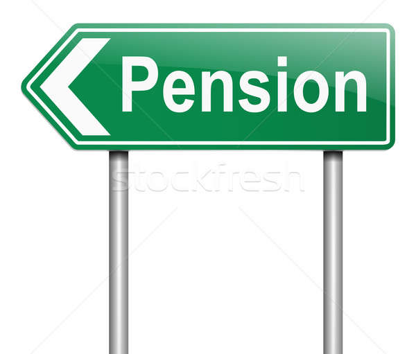 Pension concept. Stock photo © 72soul