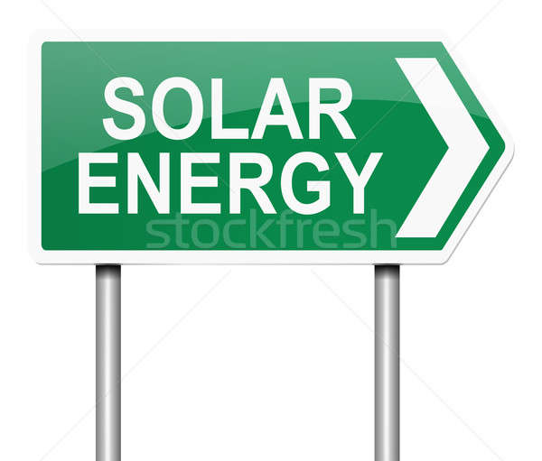 Solar energy concept. Stock photo © 72soul