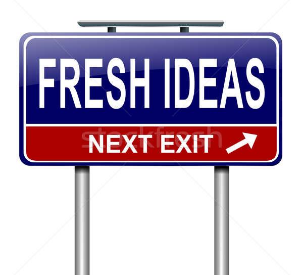 Fresh ideas. Stock photo © 72soul