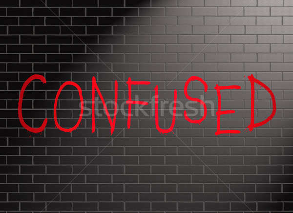 Confused concept. Stock photo © 72soul