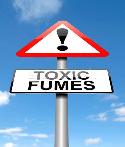 Toxic fumes concept. Stock photo © 72soul