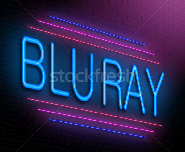 Blu ray concept. Stock photo © 72soul