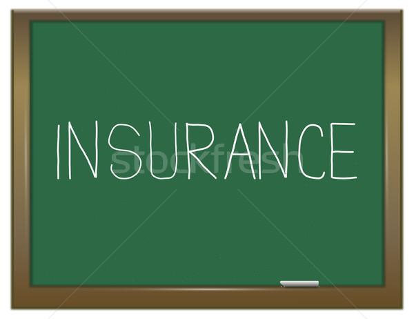 Insurance concept. Stock photo © 72soul