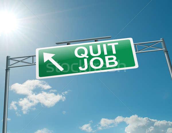 Quit job. Stock photo © 72soul