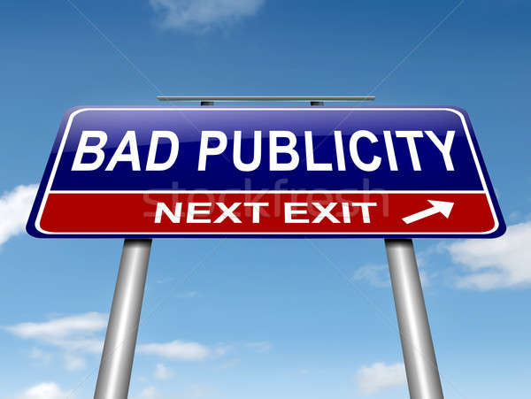 Bad publicity concept. Stock photo © 72soul