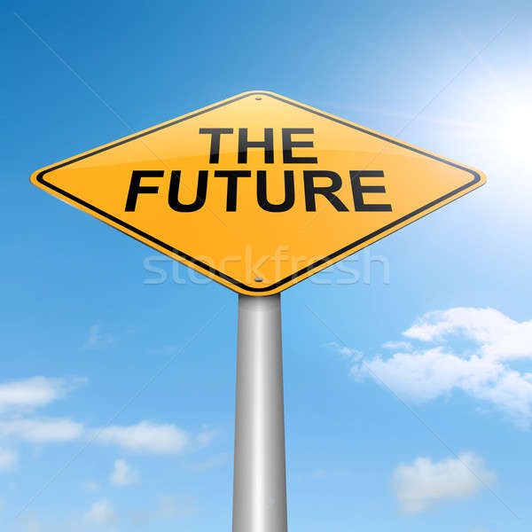 The future. Stock photo © 72soul