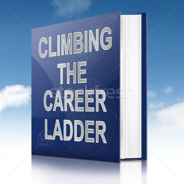 Stock photo: Career ladder concept.