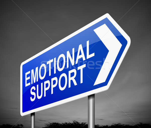 Emotional support concept. Stock photo © 72soul