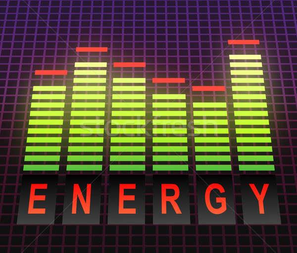 Energy concept. Stock photo © 72soul