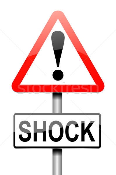 Shock concept. Stock photo © 72soul