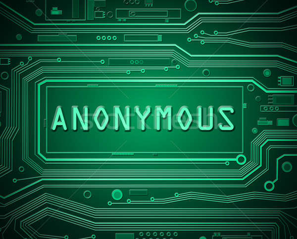 Anonymous technology concept. Stock photo © 72soul