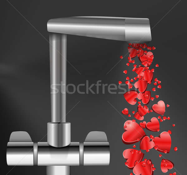 Free flowing love. Stock photo © 72soul