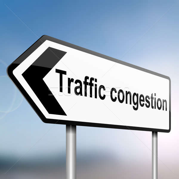 Traffic congestion concept. Stock photo © 72soul